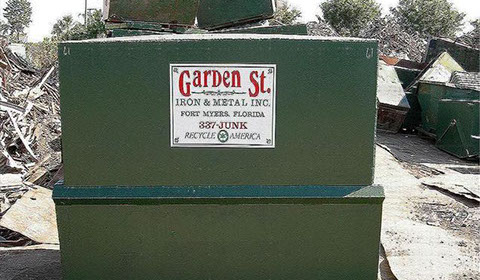 Beautiful Garden Street Iron U0026 Metal Also Provides Smaller Dumpsters Available In 4 8  Yards For Our Smaller Commercial Accounts. Images